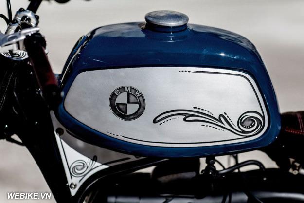 BMW R100RS độ Cafe Racer: Uốn lượn theo ngọn sóng