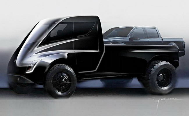 Tinuku Elon Musk confirmed Tesla pickup truck will come after Model Y