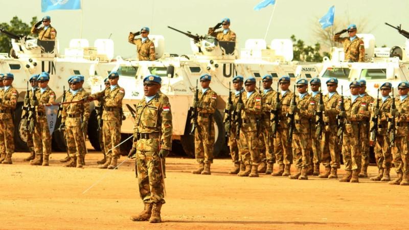 Pasukan perdamaian PBB asal Indonesia