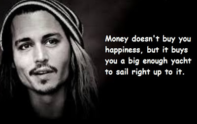 """Johnny Depp Quotes About Money"""