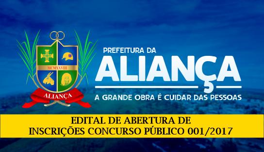 Concurso Prefeitura de Aliança (PE)