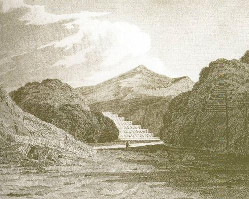 Gravura de John Mawe datada de 1812. Foto: acervo Arquivo Histórico Municipal.