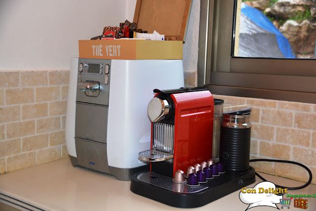 מכונת אספרסו ותמי4 Espresso machine and water filter