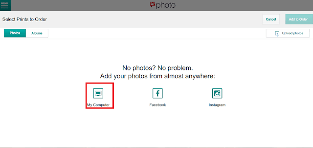 How to create Walgreens Photo account
