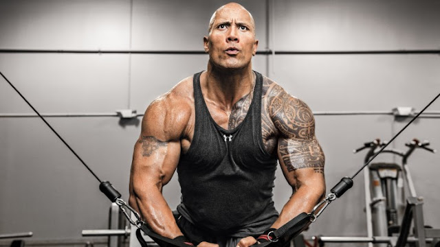 Chico adoptó la dieta de The Rock con resultados increibles