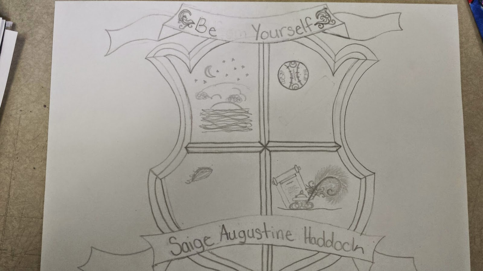 Art Sub Lessons: Coat of Arms