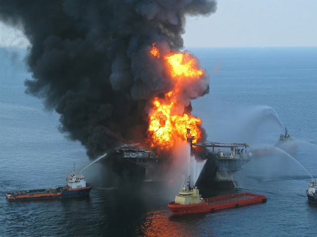 Oil spillages can be catastrophic