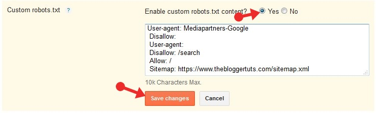 Robots.Txt File Ko Blogger Blog Me Kaise Add Kare - Fully Information