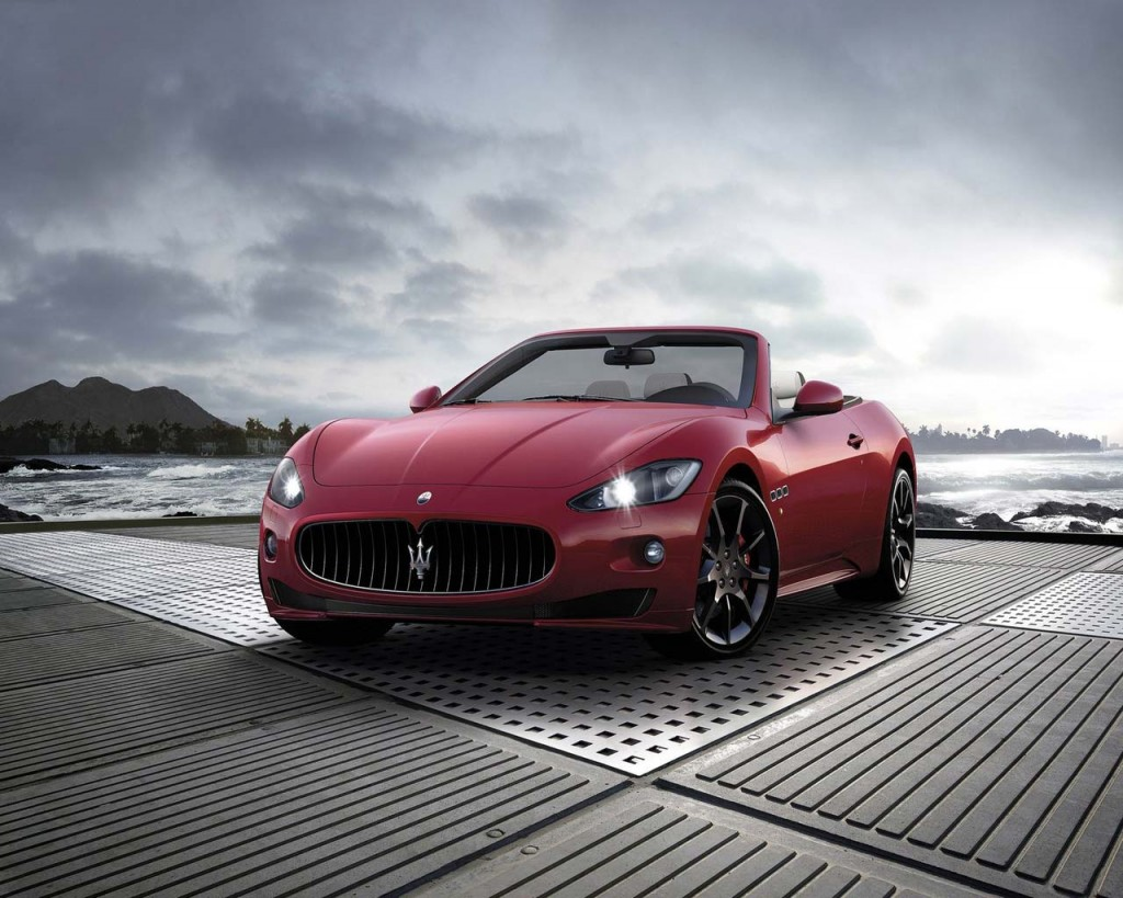 Sports Cars: Red sports car wallpaper