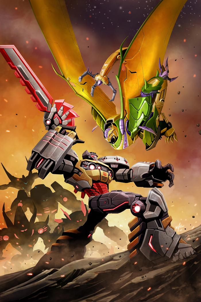 The Bad Flip Blog Transformers Prime  Rage of the Dinobots 4