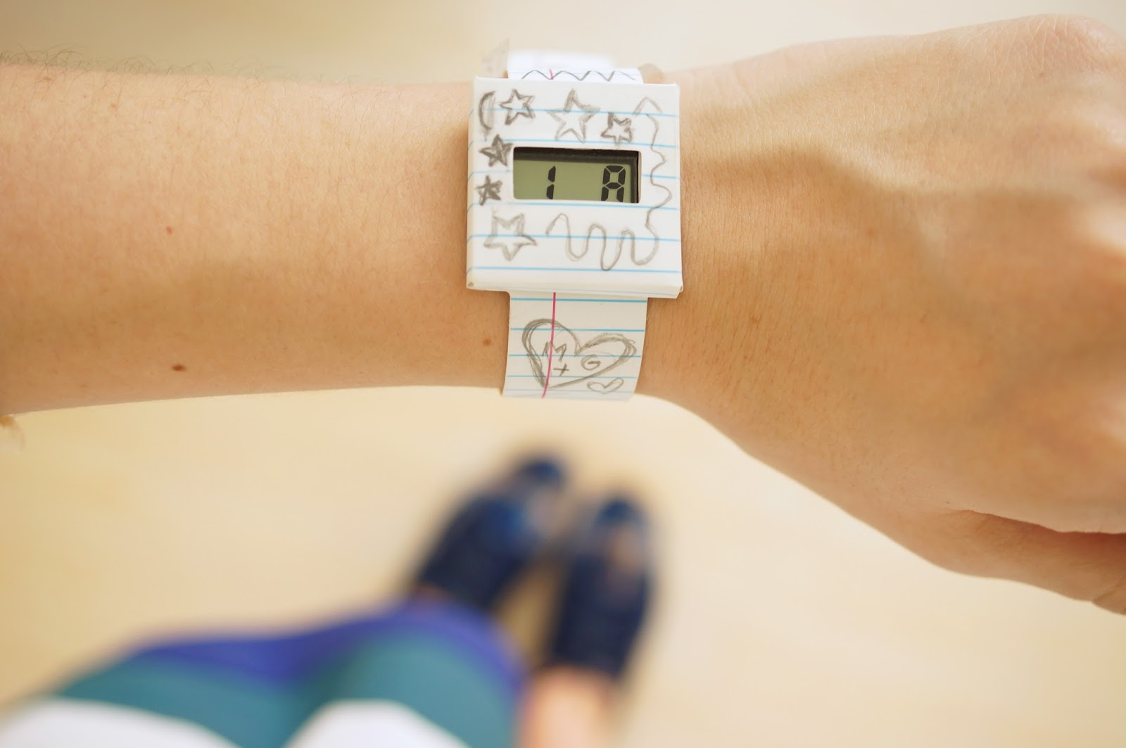 This doodle watch is SO cool because you get to draw (and erase!) anything you want on it!! Very affordable too :)
