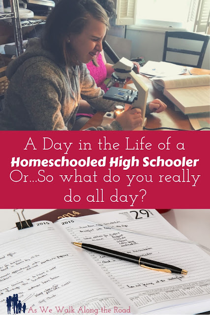 Day in the life of a homeschool high schooler