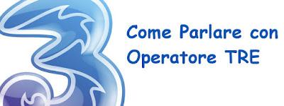 parlare con operatore 3