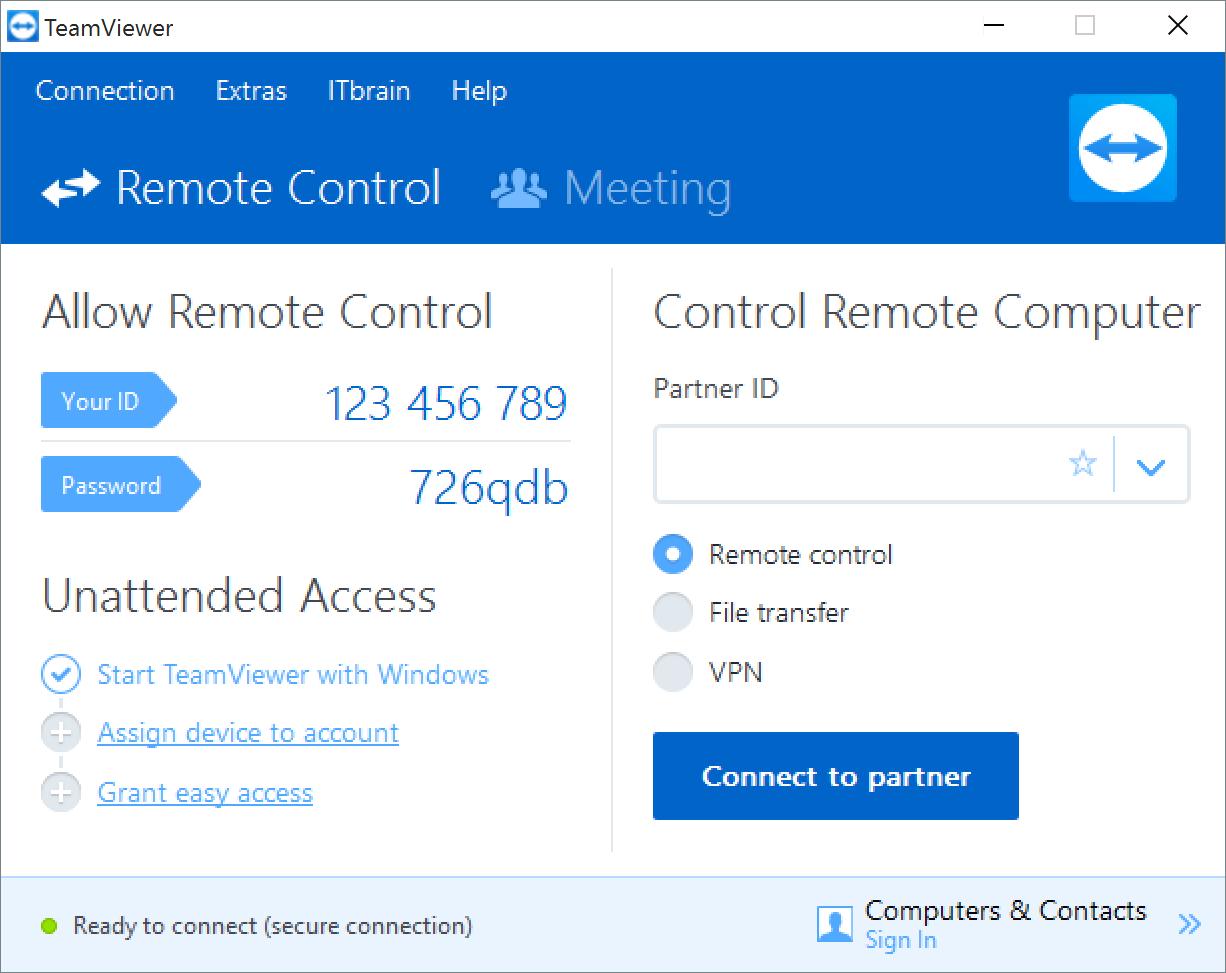TeamViewer - Bilgisayarı Uzaktan Kontrol Etmek İçin 20 Program