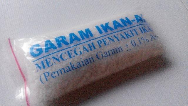 Penggunaan Garam Ikan Hias