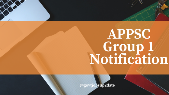 Appsc group 1notification