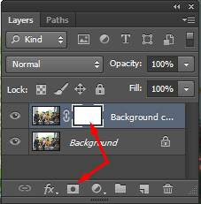 tambahkan layer mask photoshop