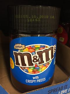 m&ms crispy spread