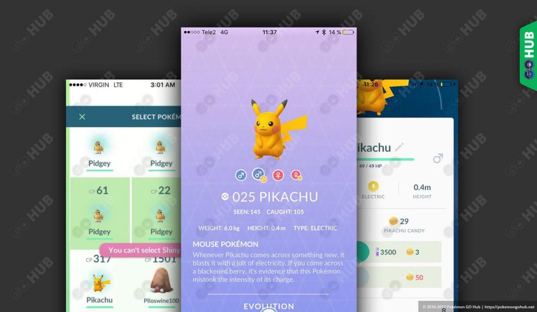 Pikachu shiny ya disponible en todo el mundo en Pokémon GO
