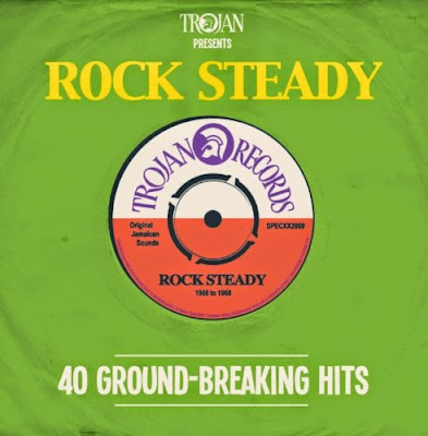 TROJAN PRESENTS ROCK STEADY - 40 Ground-Breaking Hits