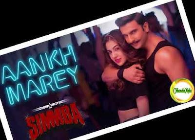 Aankh Marey Song Lyrics   SIMMBA Poster