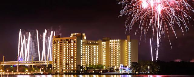 Réveillon e virada do ano novo nos hotéis Disney em Orlando