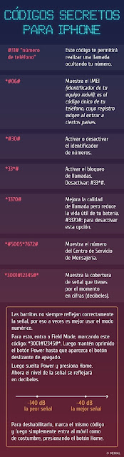 Códigos secretos que están en tu celular y no las conocías
