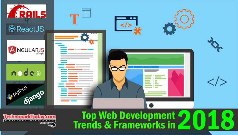 top web frameworks 2018