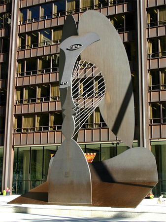 image of the Chicago Picasso