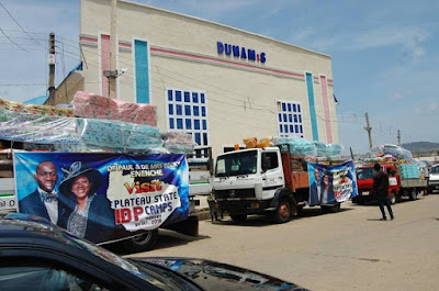 Dunamis Church Donates Relief Materials To IDPs In Plateau State (Photos)