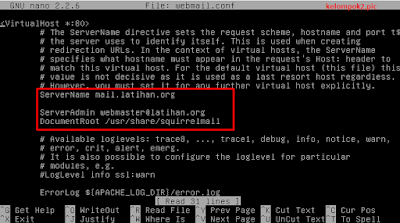 Konfigurasi Mail Server di Debian 8 Jessie