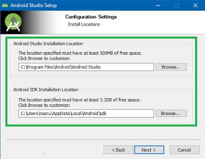 Tutorial Lengkap Cara Install Android Studio Lengkap Dengan Gambar Di Windows