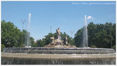 Madrid; Viagem Europa; Turismo na Espanha; Praça de Cánovas; Praça de Netuno