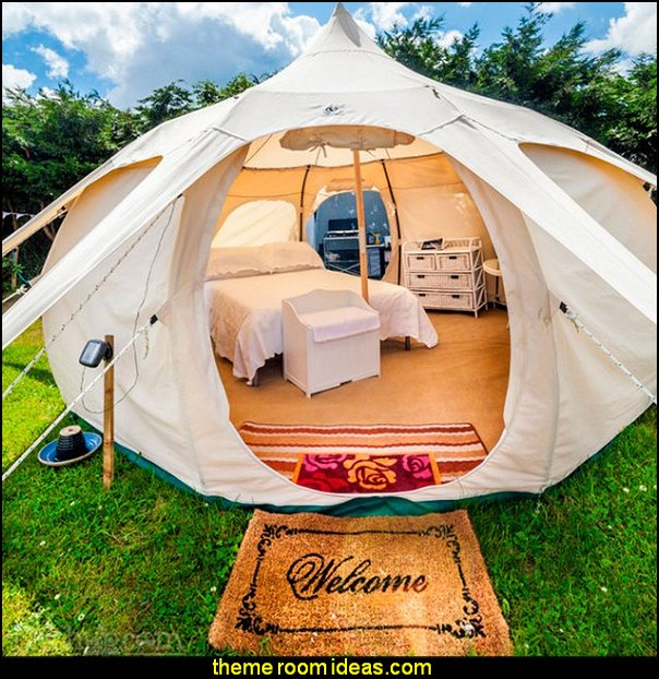 glamping 16ft Lotus Belle Tent