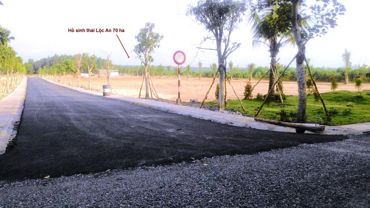 Hình ảnh thực tế dự án Khu biệt thự sinh thái Sala Hồ Lộc An Long thành Đồng Nai