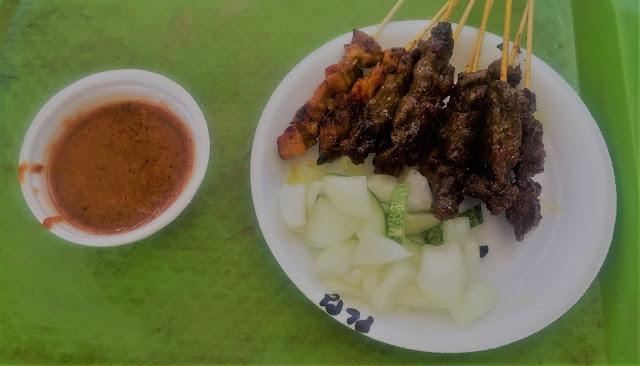 East coast lagoon food village: satay