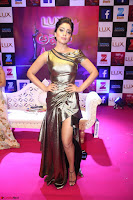 Shreya Saran in Skin Tight Golden Gown ~  Exclusive 014.JPG