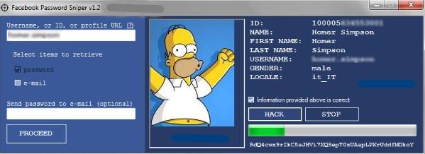 Facebook Password Sniper