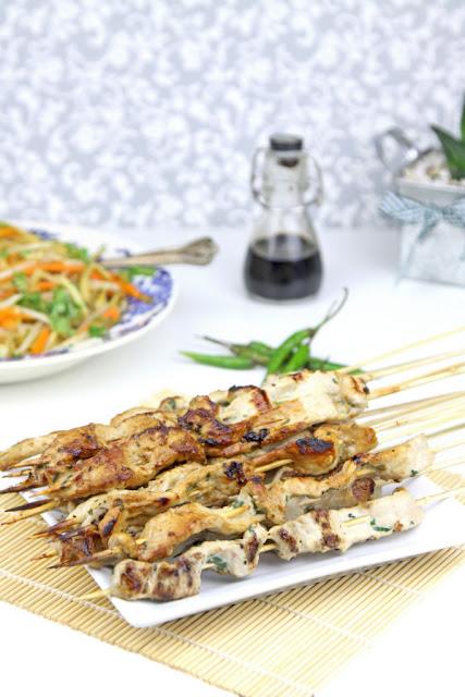 szaszłyki, szaszłyki po tajsku, kuchnia tajska,