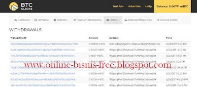 Cara Mendapatkan <b>BitCoin Gratis</b> Dari <b>Btc Click</b>