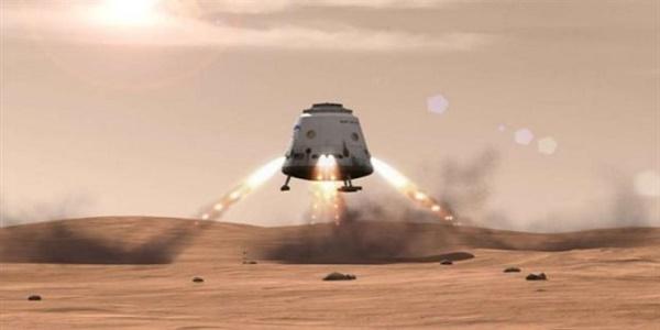 H SpaceX θέλει να αναχωρήσει για Άρη το 2018