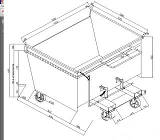Produzione Benne Ribaltabili di varie portate e dimensioni