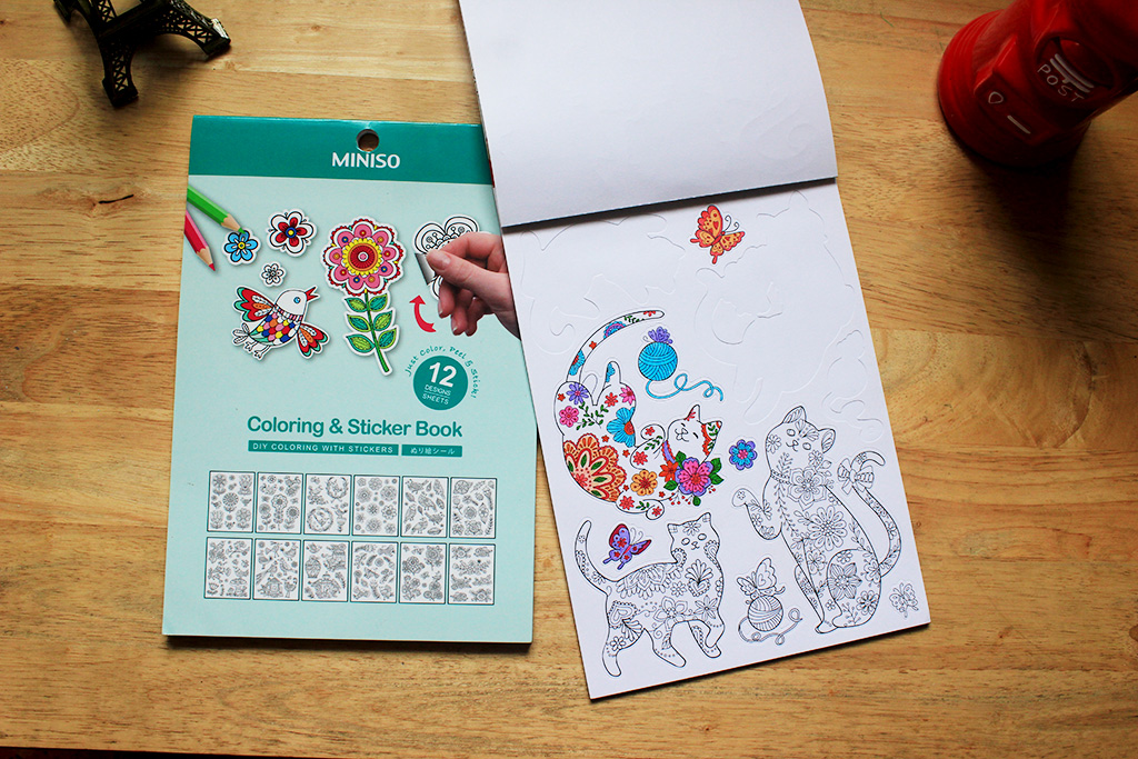 Coloring Book Miniso Kids And Adult Coloring Pages