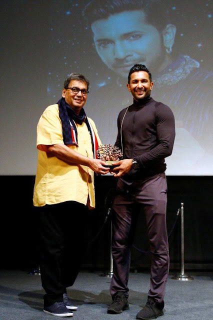 "LIFE DOESN'T GIVE YOU ANY GUARANTEE, BUT WE MUST ALL TAKE A CHANCE,"" SAID LEGENDARY DANCE MASTER, TERENCE LEWIS AT THE 5TH VEDA SESSION OF WHISTLING WOODS INTERNATIONAL"