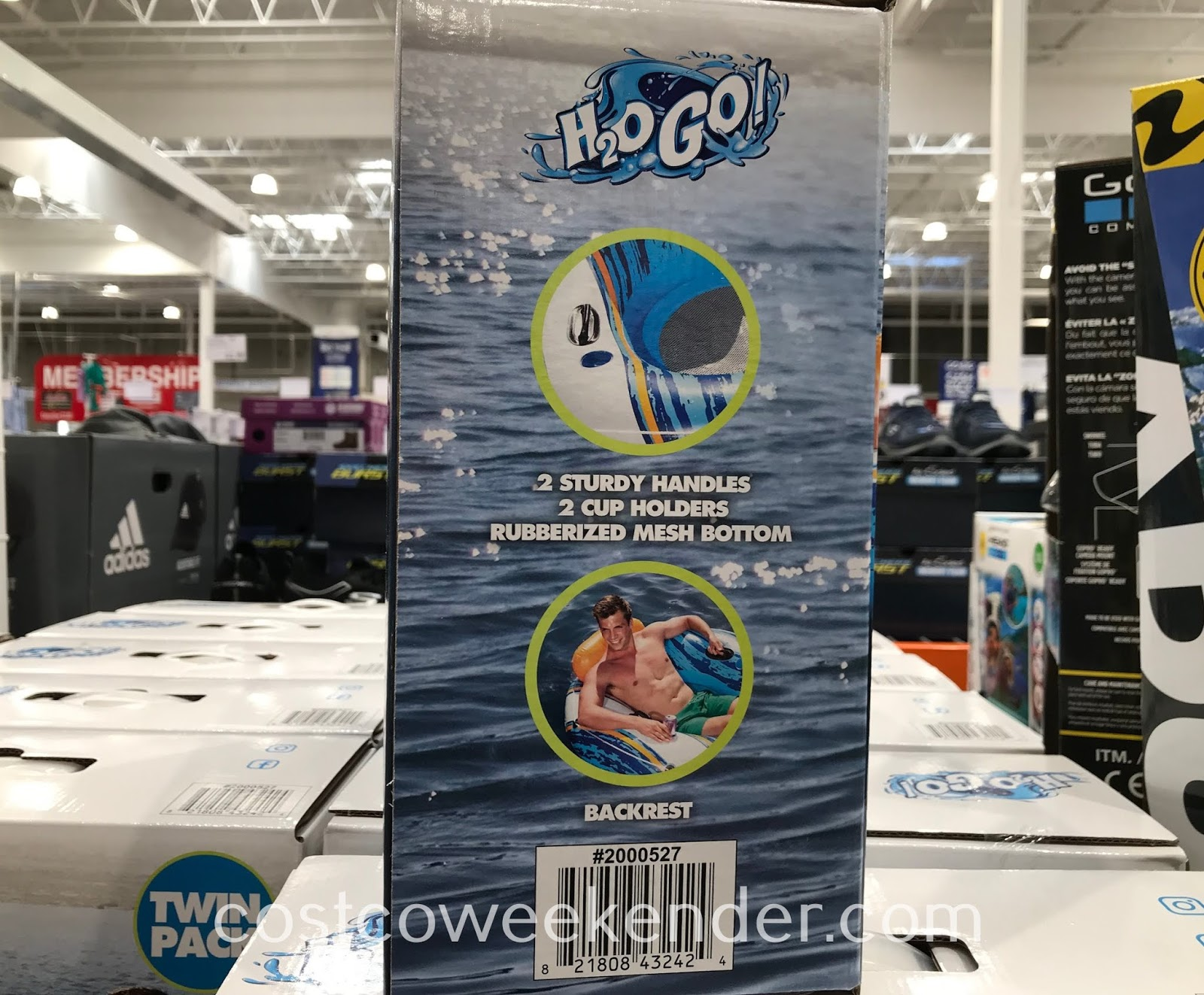 Lazy Sundays just got better with H2O Go River Sport Tubes