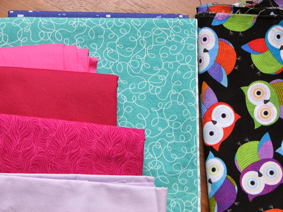 Modern Parti Quilts: Rainbow Baby Quilt Top