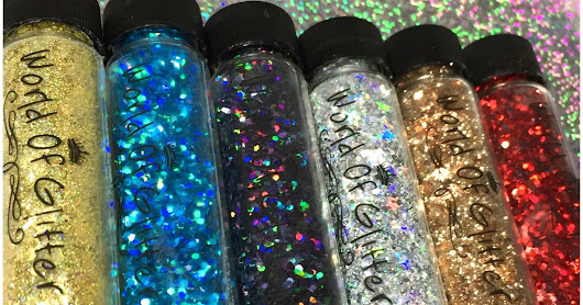 World Of Glitter: Circus Glitter Collection