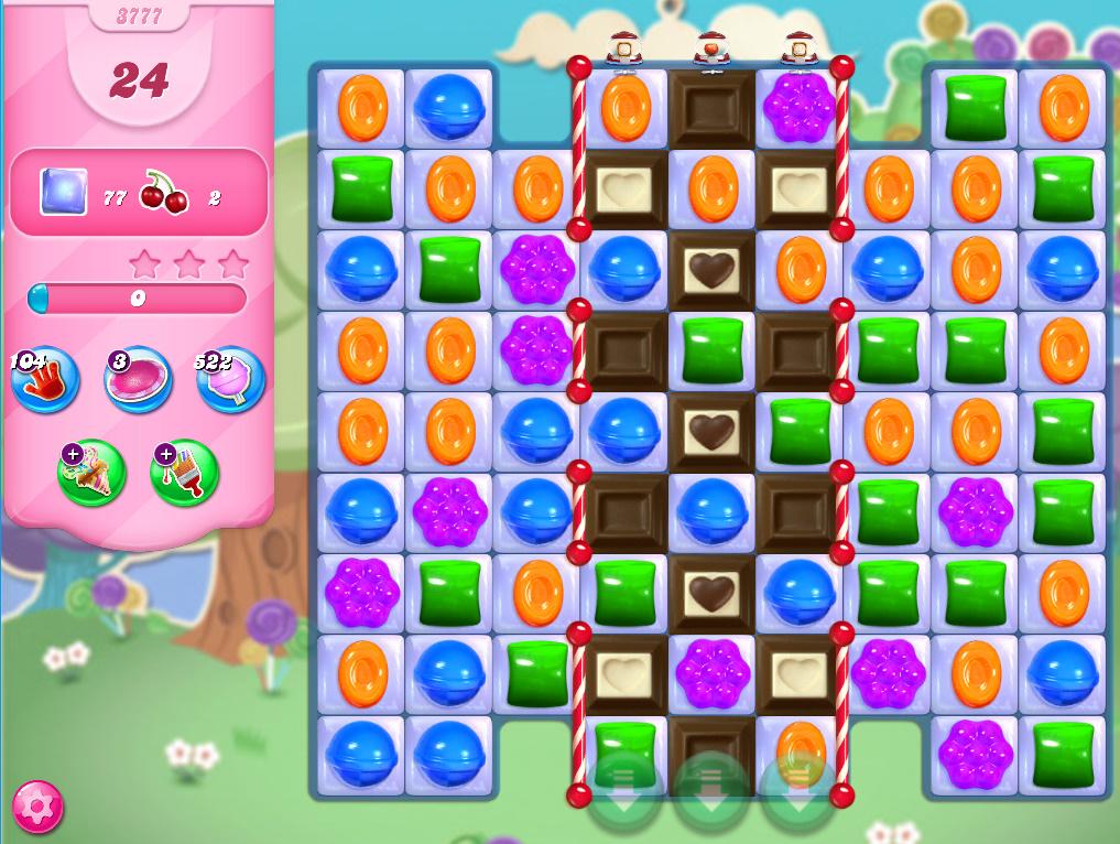 Candy Crush Saga level 3777