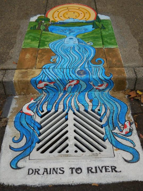 Awesome Drain Artwork.