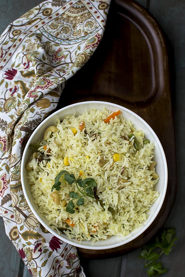 Mishti Vegetable Pulao